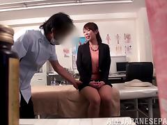Cute Japanese patient visits her doctor and gets fucked