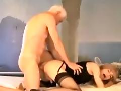 Grandpa Fucks Horny Crossdresser
