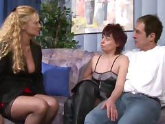Mom and Boy, German, Group, Mature, Old, Orgy