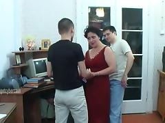 Mom and Boy, Fucking, Mature, MILF, Russian, Mom and Boy