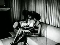 1960, Black, Bondage, Bound, Classic, Ebony