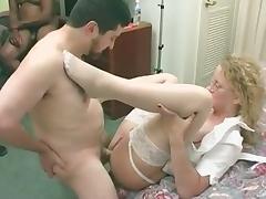 mature milf gangbang creampie vag and anal