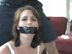 Bound, BDSM, Bound, Pantyhose, Tied Up, Hogtied