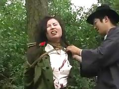 Chinese, Army, Asian, BDSM, Bondage, Bound