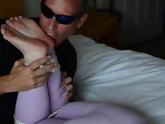 Bella Jaimes - Barefoot Bondage by Bondo