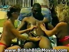 Misty McCaine - British Vintage Interracial Hardcore
