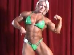 Bodybuilder, Big Tits, Blonde, British, Muscle, Nude