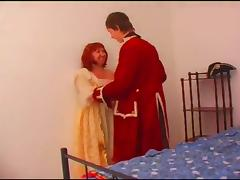 Hypnotic pussy jamming action with sultry mature redhead