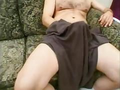 Mature crossdressers in threesome sex
