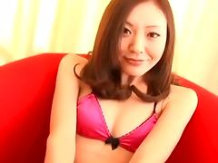 FUJIKI Mio vibrator and blowjob