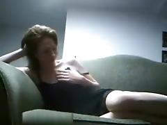 So sexy brunette milf wife make a hot amateur sex fun tuesday night