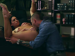 Ann Marie Rios & Scott Nails in Sex and Corruption 2, Scene 3
