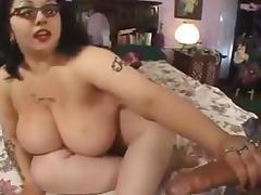 HOT FUCK #206 Busty Rocker Chick with a Big Butt