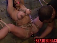 Rough sex rough fisting and hard blowjob with Becca