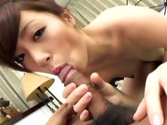 Keito Miyazawa gives head and girl blowjob