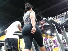 Gym, Ass, Big Ass, Compilation, Gym, Latex