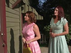 Lesbian, Big Tits, Cougar, Fingering, Lesbian, Lingerie