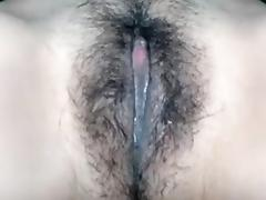 I'm caressing my body in amatur porn video clip