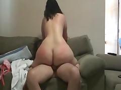 Bbw rides old cock til she cums