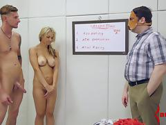 Sarah Vandella is a sweet anal submissive for two guys