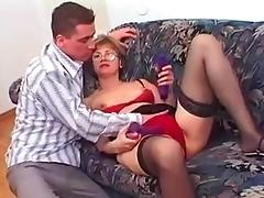 Mom and Boy, 18 19 Teens, Cougar, Fucking, Hardcore, Mature