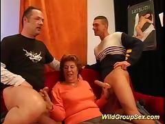 Banging, Banging, Gangbang, Granny, Group, Mature