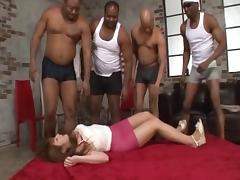 Black guys gangbang beautiful Japanese girl Shiori Kamisaki