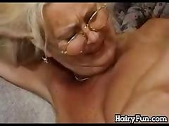 Granny Riding Her Son In Law