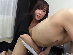 Japanese Mature, Asian, Ass, Couple, Fingering, Handjob