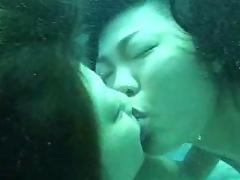 Japanese Scuba Lesbians