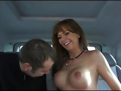 Dreier im Auto