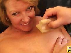 British mature plowed hard by maledoms cock