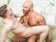 Adam Russo & Colton Grey in His Son's Best Friend Video
