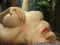 Katherine McGregor Masturbates her cunt