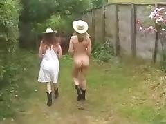 Country, Amateur, British, Country, Farm, Mature