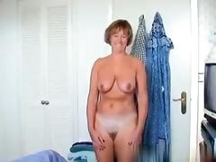 50 yo milf makes a sextape with her husband