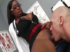Big black ass nurse.