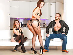 Samia Duarte,Samantha Bentley,Billy King in Pretty Little Playthings Scene Scene