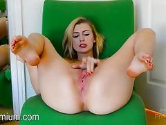 All, Blonde, Masturbation