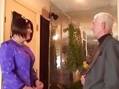 Shy crossdresser gets his ass penetration