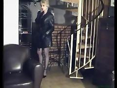 Leather, Femdom, Leather, Smoking