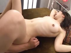 Good fucking and deep fingering makes AV girl Iori Kogawa squirt
