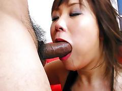 Incredible Japanese model Ren Asano in Exotic JAV uncensored Creampie movie