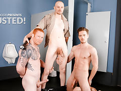 Justin Star & Lucas Knight & Jordan A in BUSTED! XXX Video