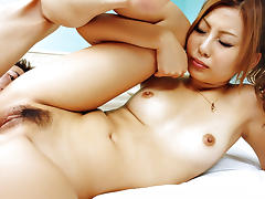 Incredible Japanese model Shiho Kanou in Exotic JAV uncensored DP movie