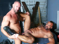 Vic Rocco & Jon Galt in Passionate Couple Video