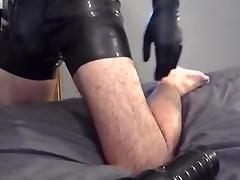 Latex and fleshlight pump engulf machine