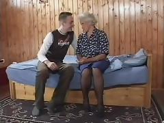 Grandmother, German, Granny, Mature, Old, Grandma