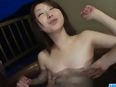 Sexy cock sharing porn spectacle along insolent Konomi