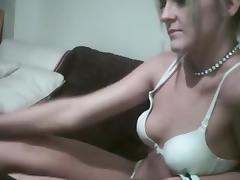 Blonde Orgasm